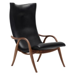 FH429 Signature Chair in Sif 98 Leather with Walnut Oil by Frits Henningsen