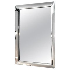 Fiam Caadre 645 Standing Mirror in Glass with Removable Feet, by Philippe Starck