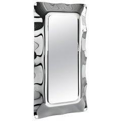 Fiam Dorian DO/202 Freestanding Mirror in Glass, by Massimo Iosa Ghini