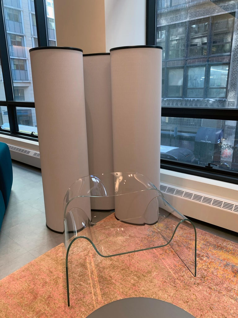 FIAM Ghost Glass Armchair For Sale 5