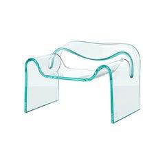 FIAM Mini Ghost Glass Armchair