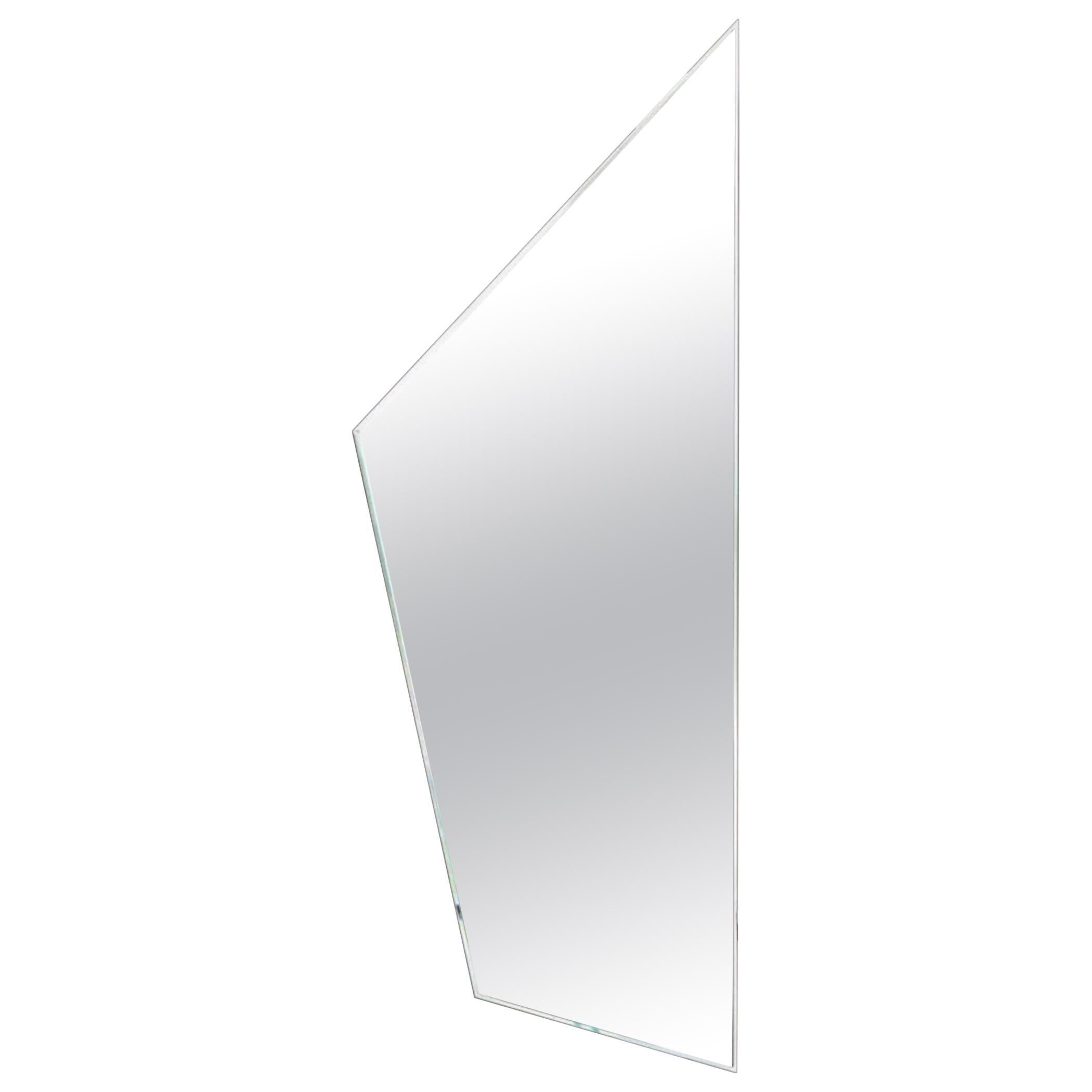 Fiam Mirage MI/A Wall Mirror in Glass, by Daniel Libeskind