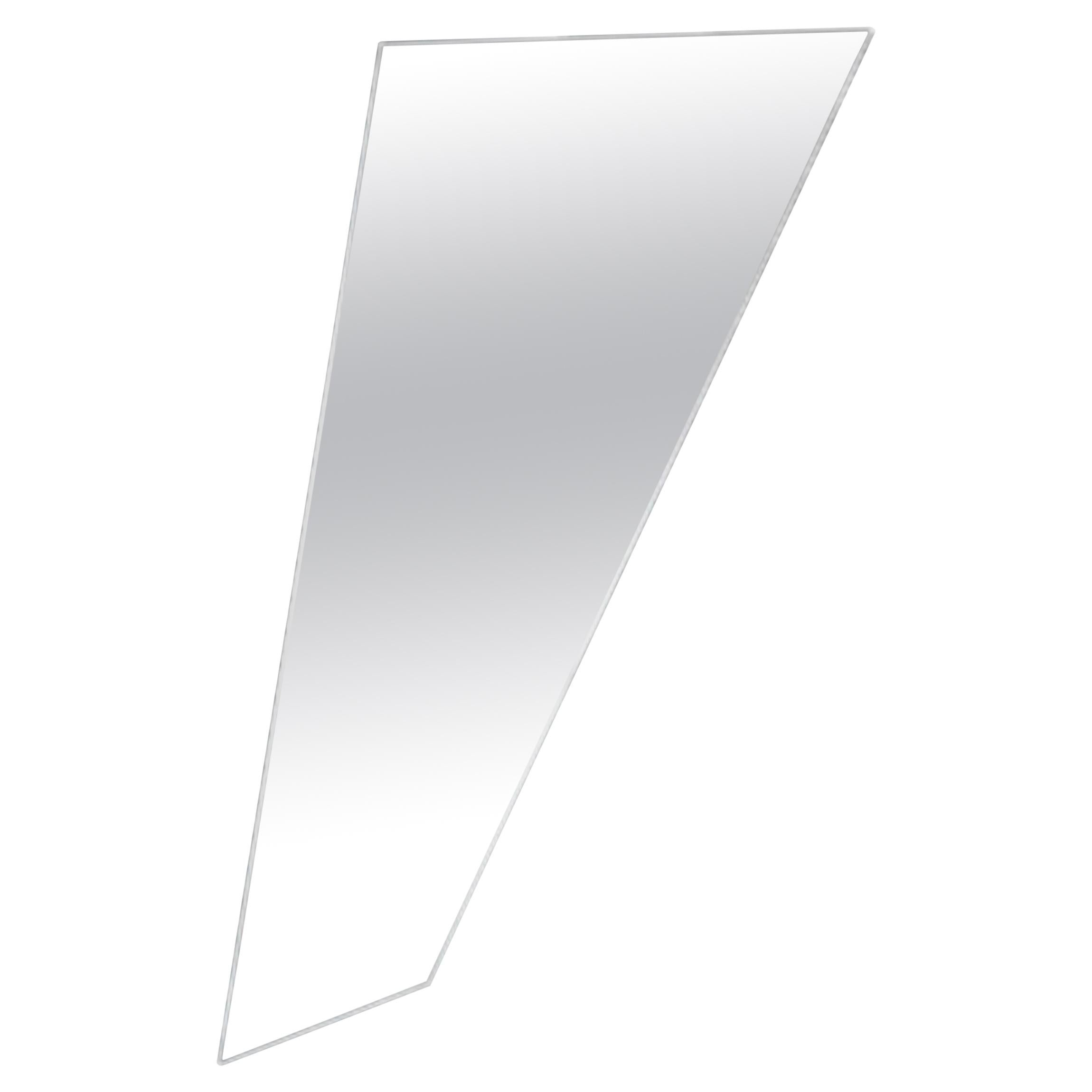Fiam Mirage MI/D Wall Mirror in Glass, by Daniel Libeskind
