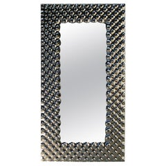 Fiam Pop Pp/116 Rectangular Wall Mirror in Fused Glass, by Marcel Wanders