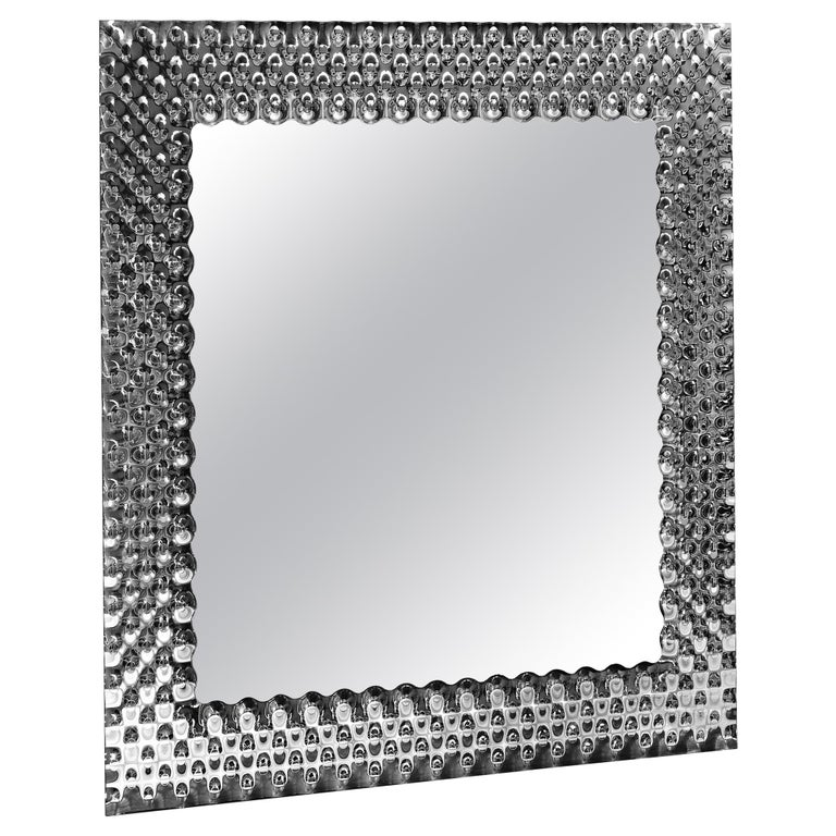 Fiam Pop Square Mirror by Marcel Wanders For Sale