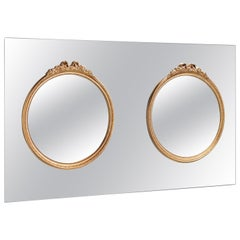 Fiam Ritratto RT/1100 Wall Mirror with Frame, by Marta Laudani & Marco Romanelli