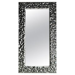 Fiam Venus 200/P Free Standing Rectangular Mirror in Glass, by Vittorio Livi