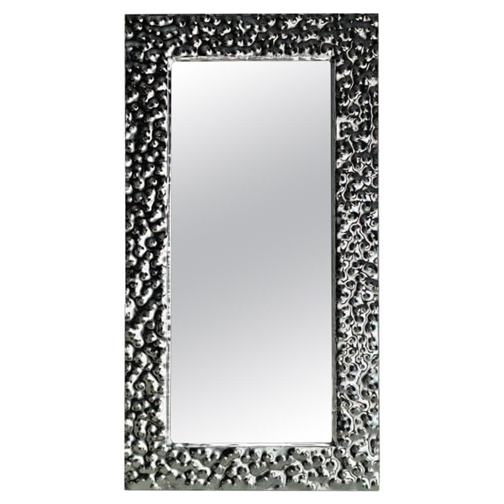 Fiam Venus 200 Rectangular Mirror in Glass, by Vittorio Livi