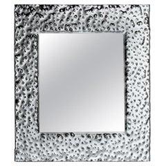 Fiam Venus 206 Square Mirror in Glass, by Vittorio Livi