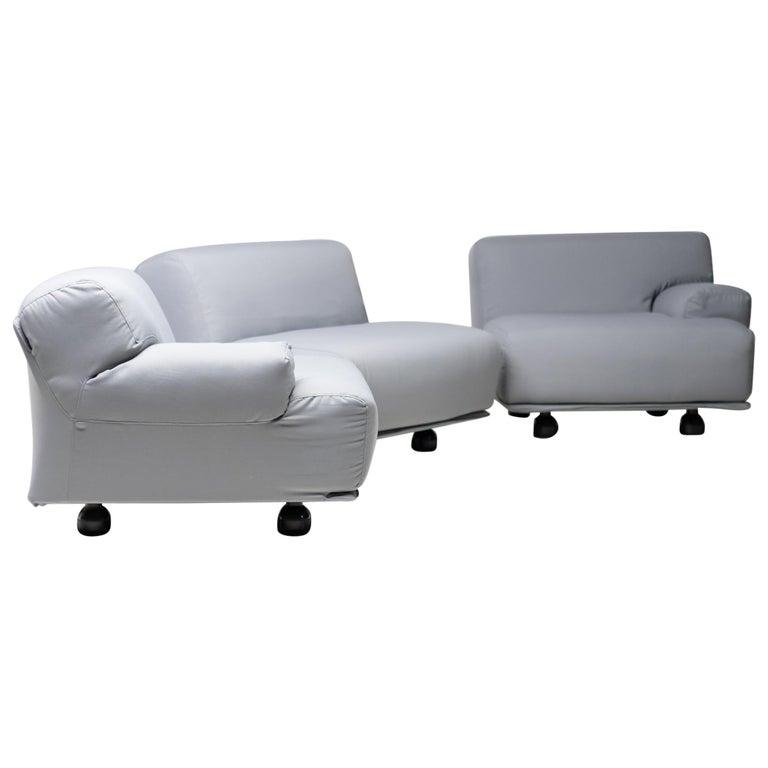 Fiandra Modular Sofa by Vico Magistretti for Cassina For Sale