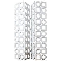 Fiber Glass Screens by Pierre Cardin