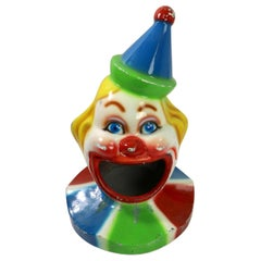 Fiberglass Clown Trash Can Topper Lid