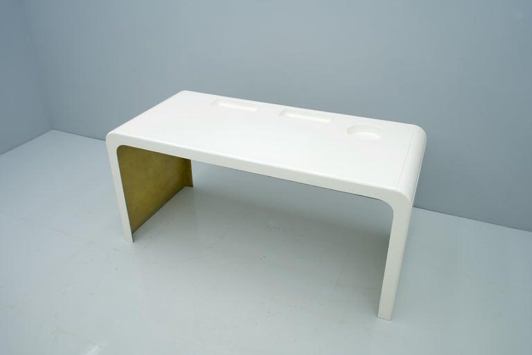 Mid-Century Modern Fiberglass Writing Desk, Germany, 1960s For Sale