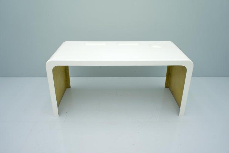 Mid-20th Century Fiberglass Writing Desk, Germany, 1960s For Sale