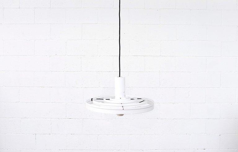 Danish Fibonacci UFO Pendant Light by Sophus Frandsen for Fog & Mørup, 1960s For Sale