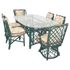 Ficks Reed Dining Table and Chairs
