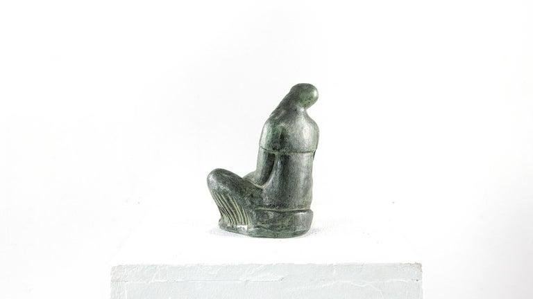 Fidel Aguilar Ceramic Sculpture, Marcó de Qua In Good Condition For Sale In Munster, NRW