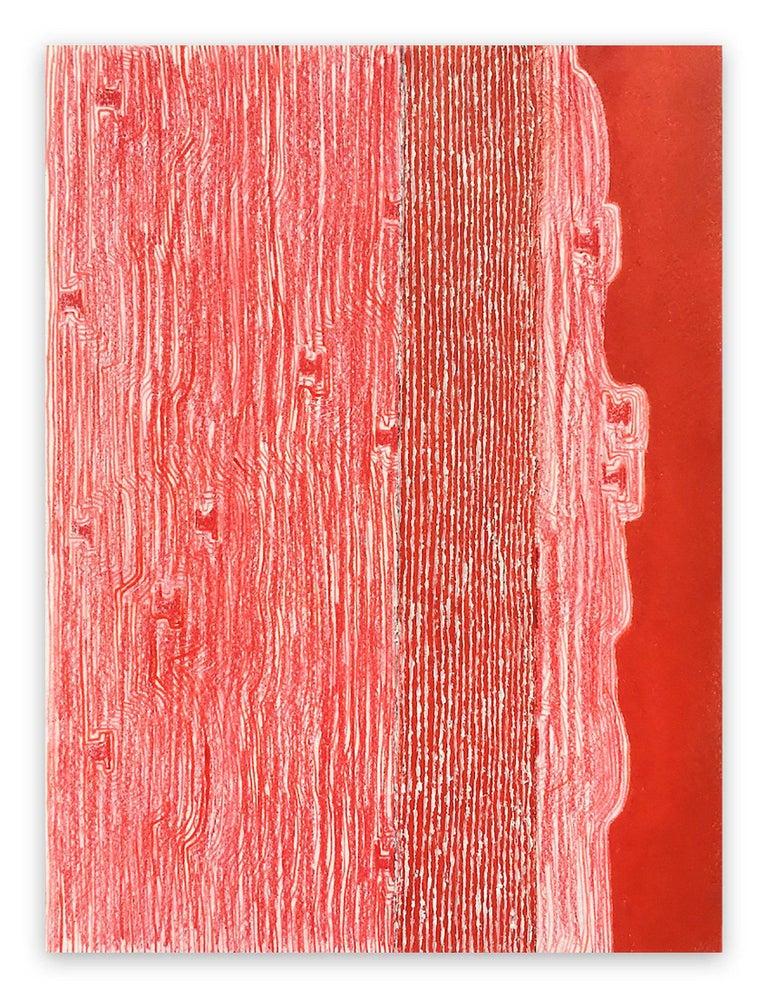 Fieroza Doorsen  Abstract Painting - Untilted (Id. 1282)