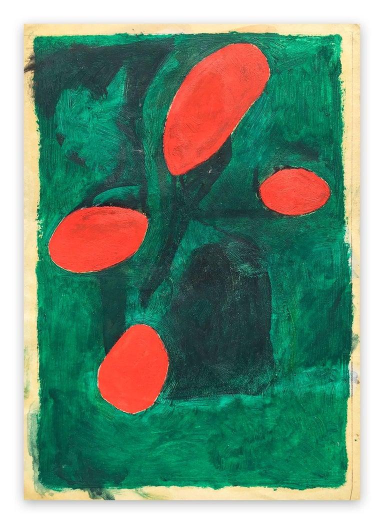 Fieroza Doorsen  Abstract Painting - Untitled (ID 1281)