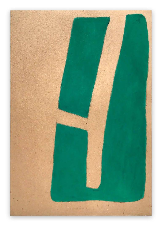 Fieroza Doorsen  Abstract Drawing - Untitled (ID 1292)
