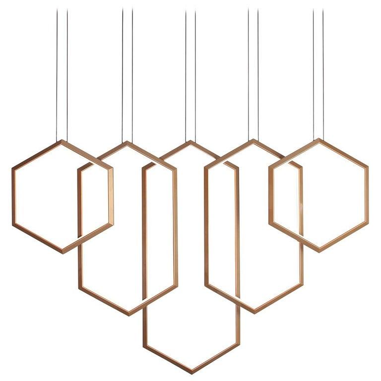 Led Linear Chandelier Light Fixture