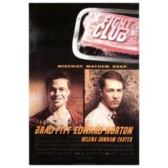 'Fight Club' 1999 U.S. One Sheet Film Poster