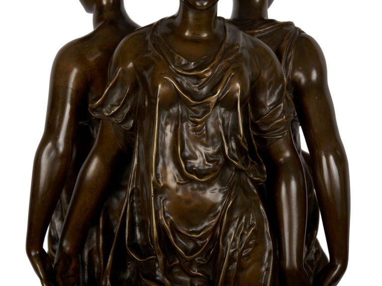 Figural Bronze Sculpture of