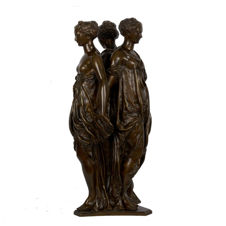 European Figural Bronze Sculpture of