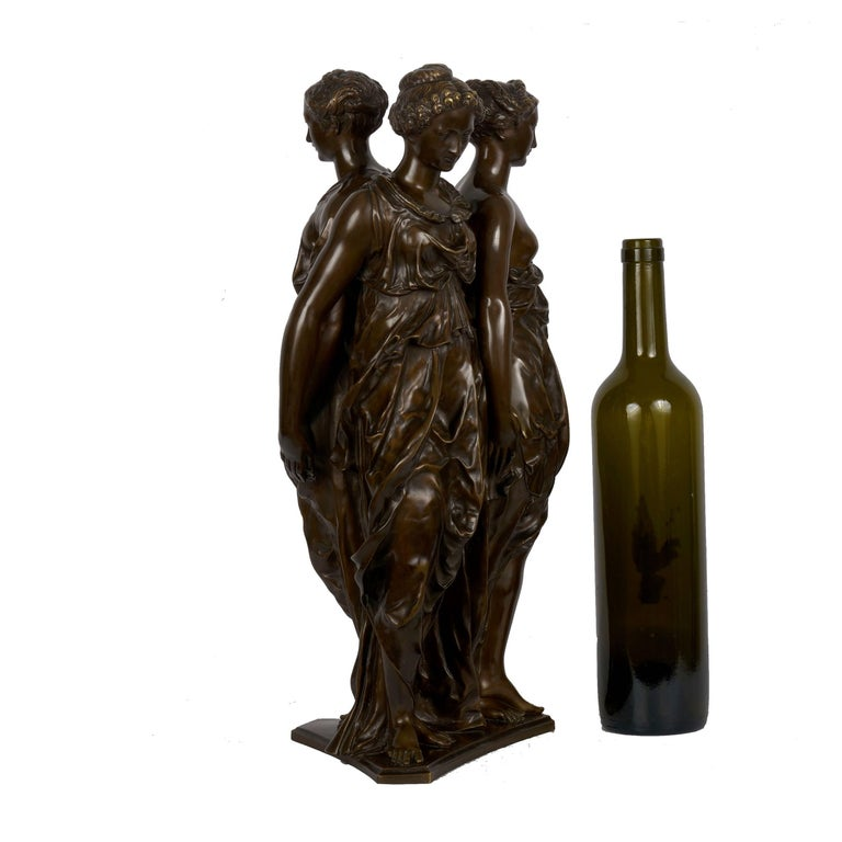 19th Century Figural Bronze Sculpture of
