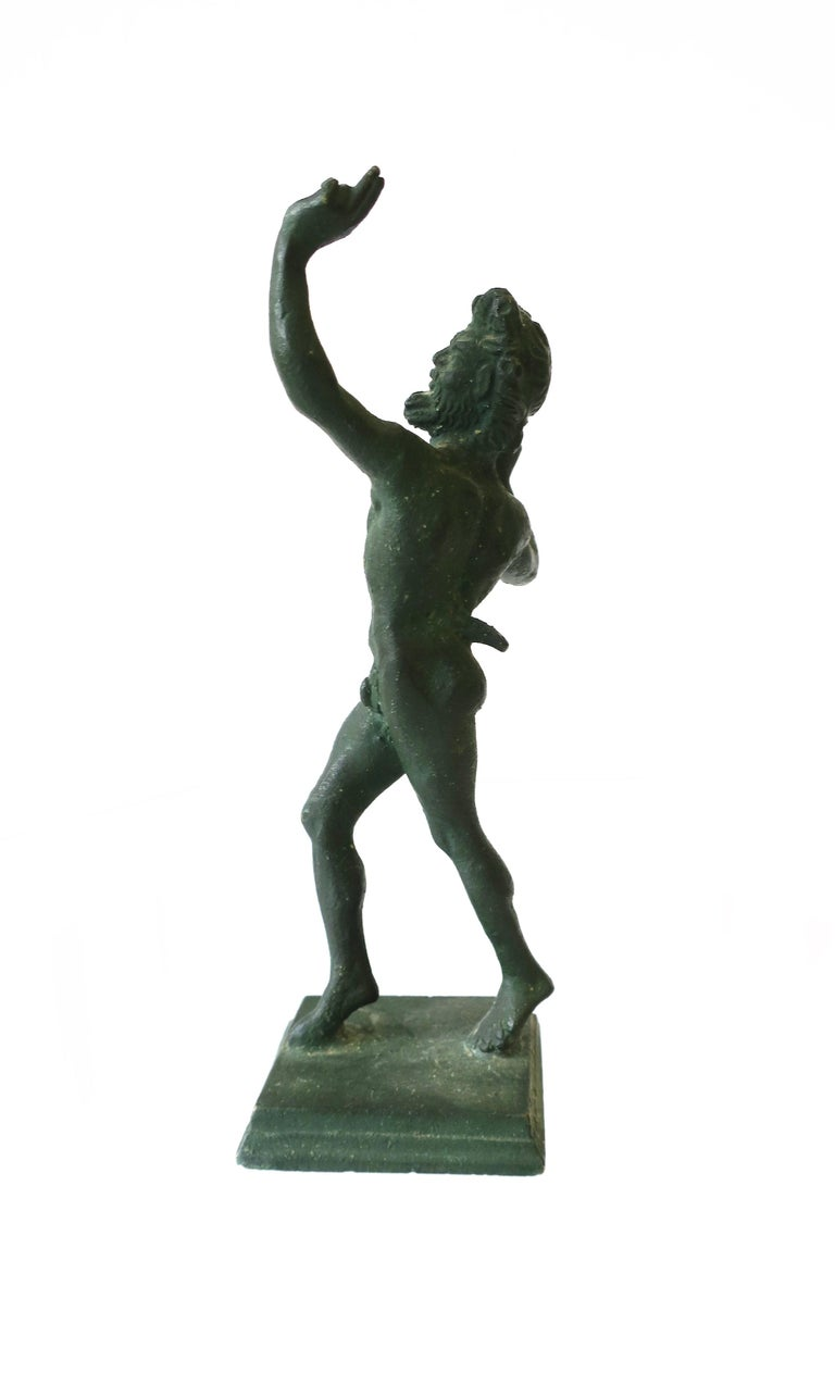 Bronze Figural Nude Greek 'Wine' God 'Bacchus' Sculpture For Sale 2
