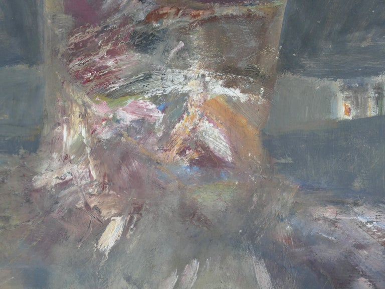 Figurative Abstract Oil Painting by Warren Fischer For Sale 1