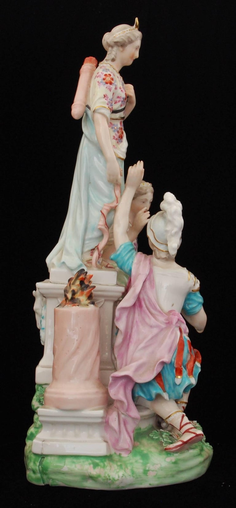 Figure Jason And Medea At The Altar Of Diana Derby