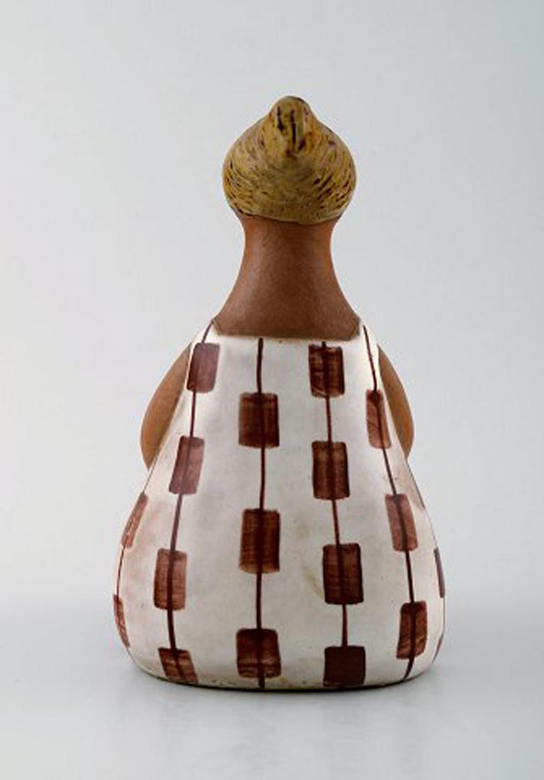Scandinavian Modern Figure, Lisa Larson for Gustavsberg,