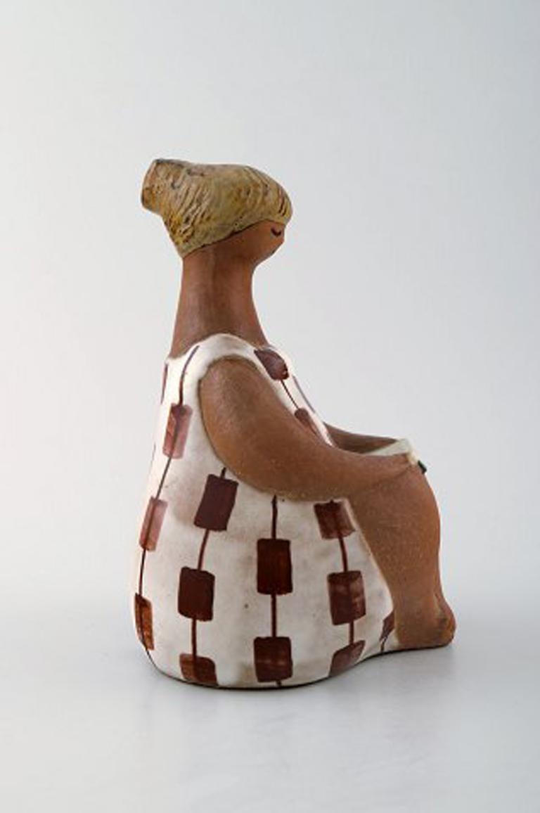 Swedish Figure, Lisa Larson for Gustavsberg,