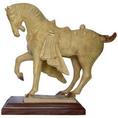 Figure of a Standing Horse by Alva Museum Replicas