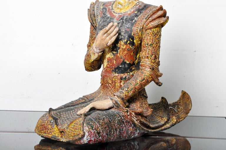 Figure of a Thai Angel For Sale 11