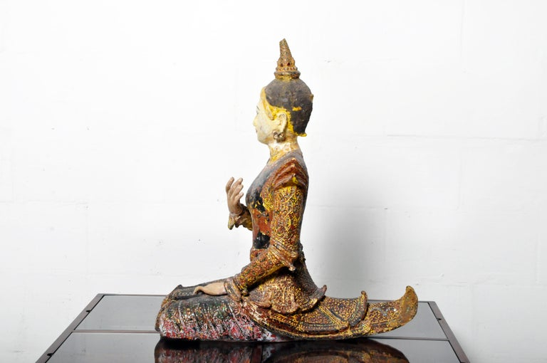 19th Century Figure of a Thai Angel For Sale