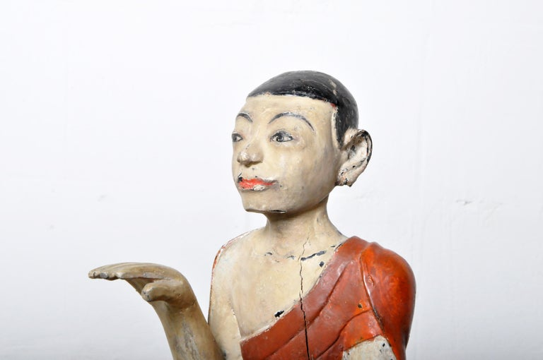 Figure of a Thai Monk For Sale 7