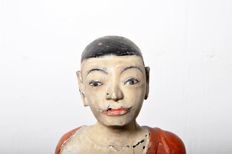 Figure of a Thai Monk For Sale 3