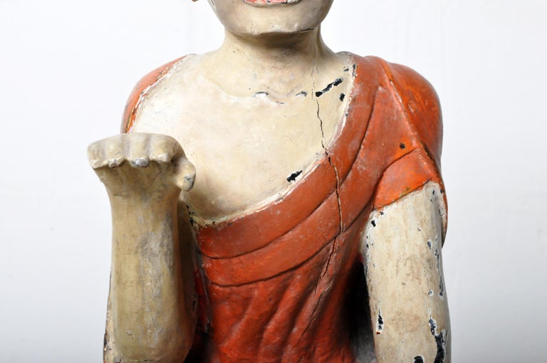 Figure of a Thai Monk For Sale 4