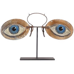 Figurial 1800s Spectacles Trade Sign