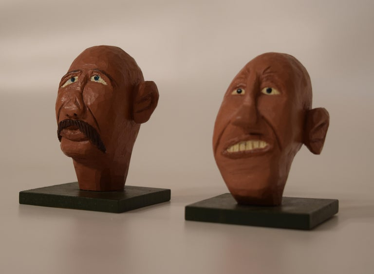 Figurines by Dr. Harley Niblack For Sale 3
