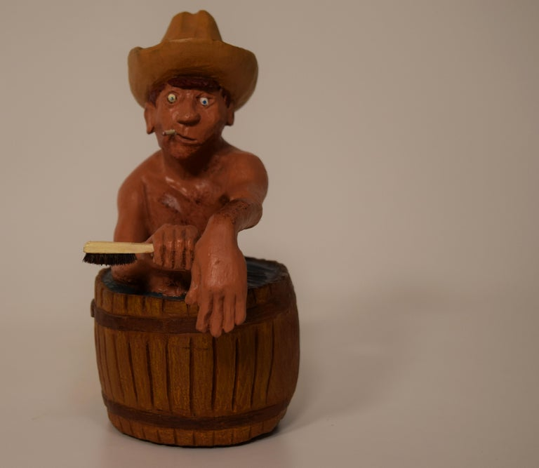 Figurines by Dr. Harley Niblack In Excellent Condition For Sale In South Charleston, WV