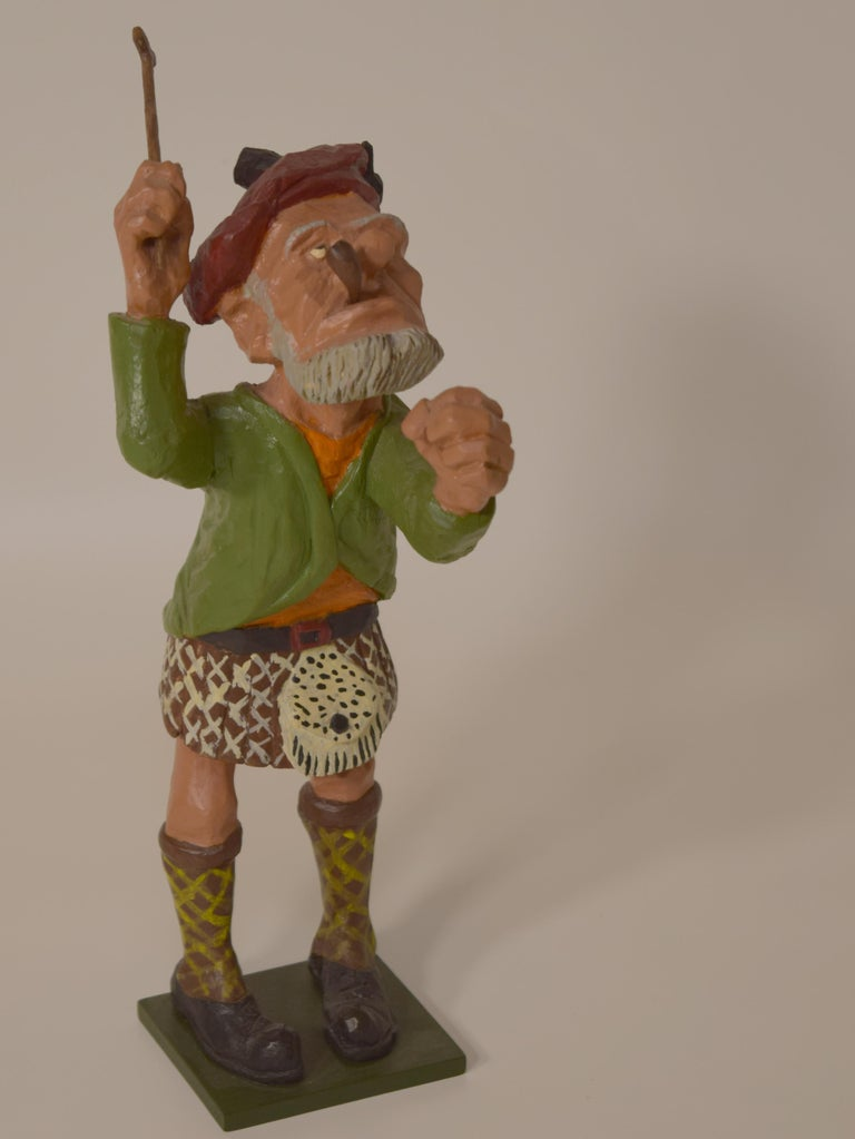 Mid-20th Century Figurines by Dr. Harley Niblack For Sale
