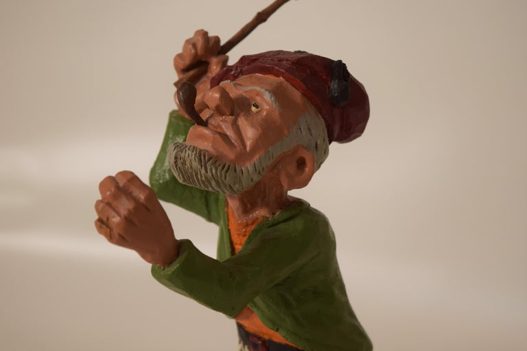 Wood Figurines by Dr. Harley Niblack For Sale