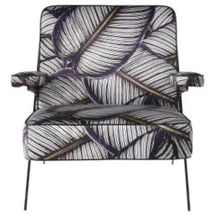 Fiji Armchair in Fabric by Roberto Cavalli Home Interiors