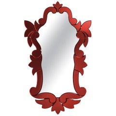 Fil Rouge Mirror by Ongaro & Fuga