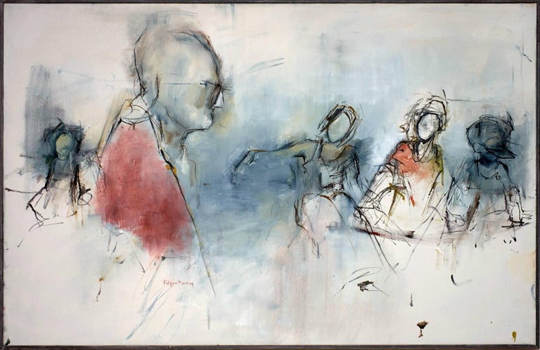 Filippa Bjerling Figurative Painting - Andy's nest