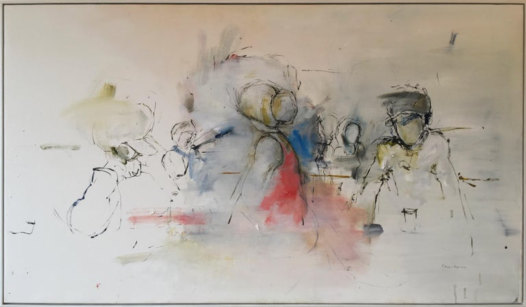 Filippa Bjerling Figurative Painting - If you ser her say hello