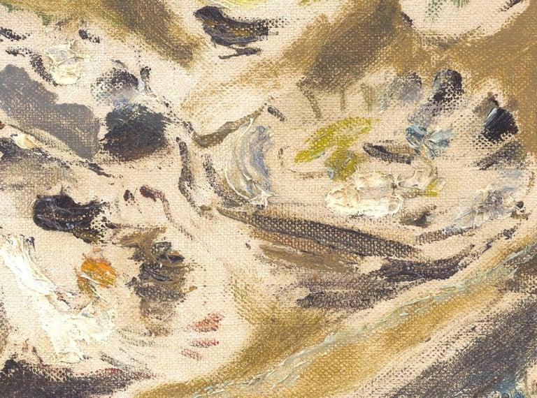 Natura Morta con ostriche, de Pisis (Still Life Oysters Painting) For Sale 2